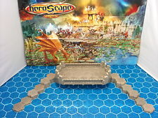 Expand Your Heroscape Battlefield with 46 Hexes of Bridge, Road & Wall Walk Tile