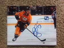 Olli Jokinen Autographed 8x10 Photo Nashvillie Predators Jets Kings  PROOF
