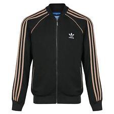 adidas Originals Mens Superstar Track Top Jacket Zip up 2 Colour Ab9716 / Ab9715 M Green