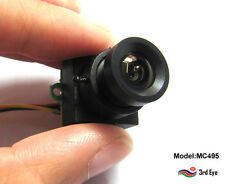 Mini 520TVL CCTV SPY surveillance video Audio Camera 0.008Lux for Home Security