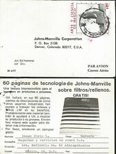 J) 1976 MEXICO, ART AND SCIENCE OF MEXICO, AIRMAIL, CIRCULATED COVER, FROM MEXIC