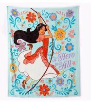 Disney Elena of Avalor Plush Throw Blanket Super Soft Micro-Fleece Throw NEW