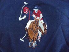 Mens USPA US Polo ASSN Shirt Short Sleeve Extra Large XL BLUE LARGE PONY LOGO