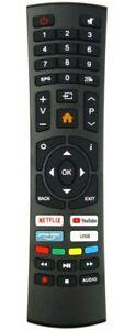 AKAI BAUHN AK5521NF AK6521NF ATV55UHDS-0920 ATV65UHDS-1020 REMOTE CONTROL TV
