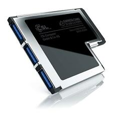 CSL - USB 3.0 3 Port ExpressCard 54mm | PCMCIA Schnittstellenkarte / Adapter NEU