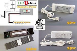 LEDupdates 12v 24v Power supply Driver 30w 50w 60w 96w 120w Triac dimmable LED