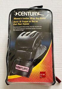 CENTURY Women's Leather Wrap Bag Gloves S/M
