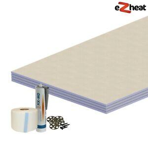 Tile Backer Board Professional Kit for Wetroom Steam Room Waterproof Sealing