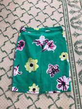 J. Crew Punk Floral Pencil Skirt Green Size 2 $98