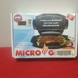 Body by Jake Micro Grill As Seen on TV Microwave Oven Grill  clean!!