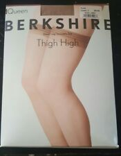 Berkshire Sheer Leg Thigh High Stockings Style 1590 Nude Size Queen 2