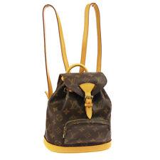 LOUIS VUITTON MINI MONTSOURIS BACKPACK HAND BAG SP1011 MONOGRAM M51137 WA00576