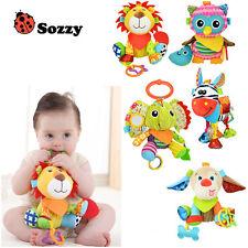 Sozzy Multifunctional Baby Toys Rattles Infant Pram Stroller Hanging PlushAnimal