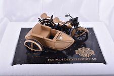 1933 Harley Davidson Gold Ultra Edition Motorcycle & Sidecar Bank 1 of 3000
