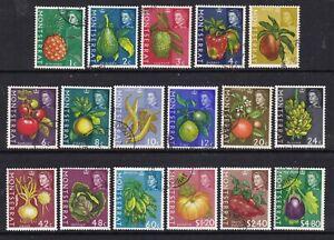 Montserrat - SG 160/76 - f/u - 1965 - Fruit & Vegetables