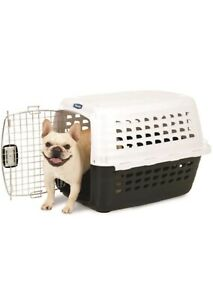 Petmate Compass Plastic Pets Kennel with Chrome Door Size: UP TO 10LBS