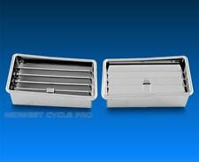 Honda Goldwing GL1800 Chrome Lower Air Vents fits '01-'10 by Add On (45-1256)