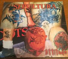 Attitude - Sepultura - 1996 - CD1 Single Digipak. Road Runner. Soulfly. Heavy.