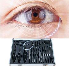 Titanium Cataract & intraocular Lens Microsurgery Surgical Ophthalmic Kit 21 Pcs