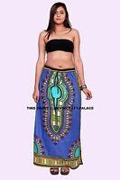 Sexy Women Hippie Tribal Boho Beach Long Casual African Dashiki Maxi Skirt Dress