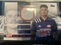 2020 MLS Jumbo Relic #JR-GB Gustavo Bou /319 - New England Revolution