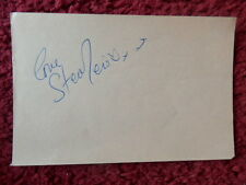 ON THE BUSES ACTOR STEPHEN LEWIS AUTOGRAPH