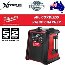Milwaukee Bluetooth Job Site Radio Cordless M18 40W Amplifier AM/FM USB charger