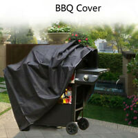 BBQ Grill Cover Barbecue Waterproof Outdoor Heavy Duty Protection Black Newest