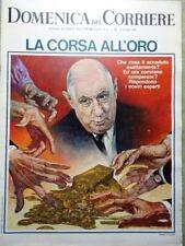La Domenica del Corriere 12 Dicembre 1967 Corsa Oro Sangue Trasfusioni Nomadi TV