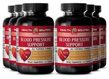 Healthy Circulation & Blood Flow Caps - Blood Pressure Complex - Vitamin C 6B