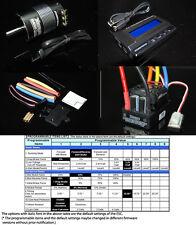 HOBBYWING XERUN 3656SD 4000KV Sensored Motor + SCT PRO 120A ESC Combo