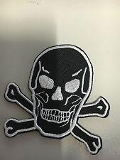 Iron On Patch - Skull Cross Bones