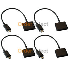 4 Converter Charger Adapter for Apple iPhone 3 3G 4 4S Female to Micro USB Male