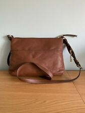 FOSSIL BROWN LEATHER SHOULDER BAG - NWOT