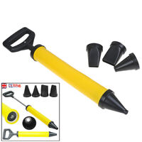 Caulking Cement Lime Pump Grouting Mortar Sprayer Filling Tools+4 Nozz- JR