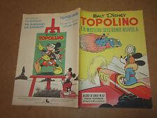 WALT DISNEY ALBO D'ORO N°37 TOPOLINO E IL MISTERO DELL'... 28-02-1950 1°RISTAMPA