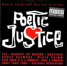POETIC JUSTICE SOUNDTRACK - RAP HIP-HOP ALBUM CD 2PAC TUPAC PETE ROCK CL SMOOTH