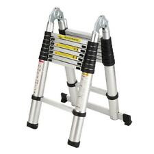 165ft Step Ladder Extension Telescoping Lightweight Portable Folding Telescopic