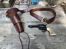 "Vintage Hahn ""45"" C02 Pistol w/Quick Draw Holster Nice !!"