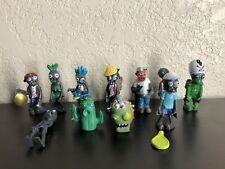 Lot of Plants Vs. Zombies Cactus & more PVC Action Figure Doll Toys