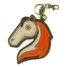 New Chala Purse Bag Charm Clip On Key Ring Fob HORSE  gift