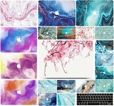 Marble Hard Case Cover Shell for Macbook Air Macbook Pro with Keyboard Cover MH