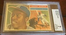 1956 Topps #31 Hank Aaron (HOF) Milwaukee/Atlanta  BVG 7 NM HIGH END BEAUTY!!