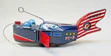 1950's SPACE WHALE PIONEER PX-3 Space Ship ORIGINAL tin w/u COMPLETE & works