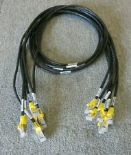 """Job Lot 6 x IBM EMC 45W9770 U2N1-M2F4 RJ45 To RJ45 Ethernet Patch Cable 58"""""""