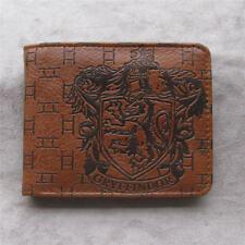 Harry Potter Gryffindor Leather pu Wallet Credit Card Holder Coin Purse Handbags