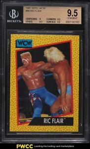 1991 Impel WCW Wrestling Ric Flair #46 BGS 9.5 GEM MINT