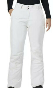NWT Columbia Women's On the Slope II Snow Pant White Size L Reg
