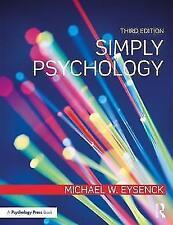 Simply Psychology, Eysenck, Michael W. & Eysenck, Michael W., New Book