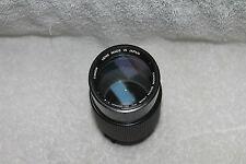 Canon FD 70-210mm f4 MACRO Telephoto Zoom Lens Exc++
